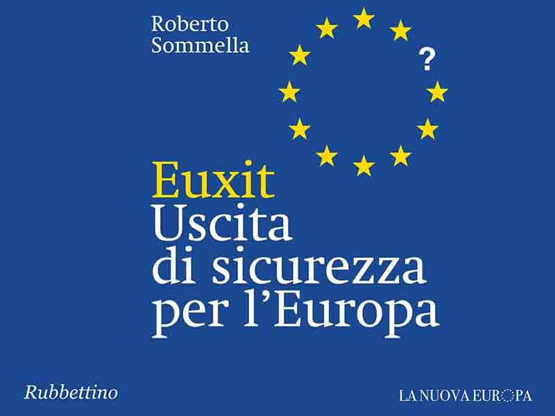 "Roberto Sommella presenta ""Euxit"" all'Antitrust"