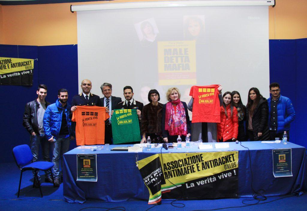 Piera Aiello, Maledetta Mafia incontra gli studenti di Rosarno