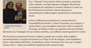 """Teletopi di Altra.tv, l'articolo di """"Il sole 24ore"""""""