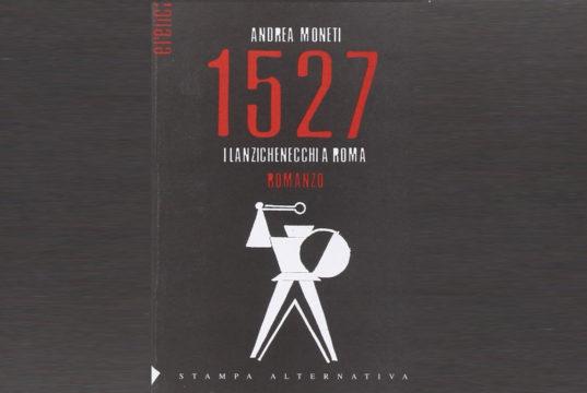 """Nel video l'autore Andrea Moneti illustra il filo conduttore del suo romanzo """" 1527 - I Lanzichenecchi a Roma"""": il dialogo."""