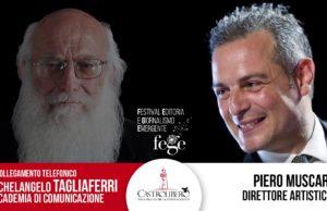 Anteprima Fege, Michelangelo Tagliaferri - intervista telefonica. Un festival che parte da Sud: provocatorio nella provocazione!