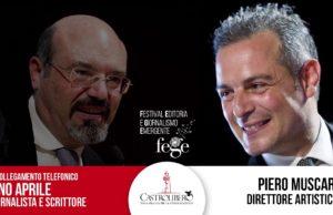 Anteprima Fege:intervista telefonica a Pino Aprile. La libertà ha un prezzo! Lo spiega Pino Aprile intervistato da Piero Muscari. Maggiori informazioni su www.fege.it.