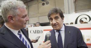 Nel videoai microfoni diScrittori.tv,l'intervista dell'editorePiero Muscari, in occasione delSalone internazionale del libro 2018, a Urbano Cairo.