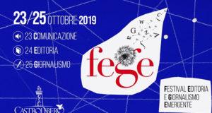 Fege, torna il festival. L'edizione 2019 dal 23 al 25 ottobre